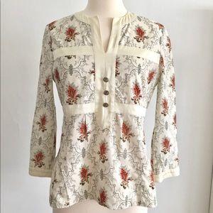 Chloe paisley blouse top